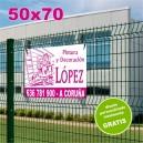 Carteles PVC 50x70 - 1 tinta