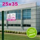 Carteles PVC 25x35 - 2 tintas