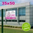 Carteles PVC 35x50 - 2 tintas