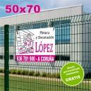 Carteles PVC 50x70 - 2 tintas
