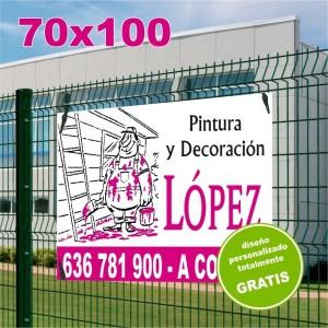 Carteles PVC 70x100 - 2 tintas