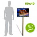 Placa Akylux 60x40