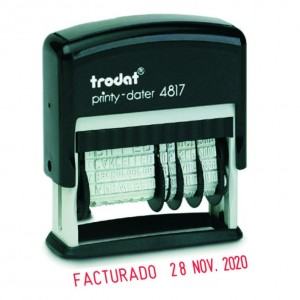 Sello Trodat Printy-dater 4817