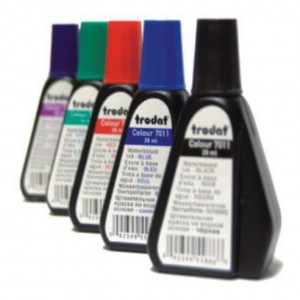 Tintas para almohadillas de sellos