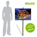 Placa Akylux 80x60