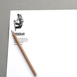 Papel corporativo 1 tinta con reverso