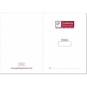 Carpeta Comercial - 2 tintas